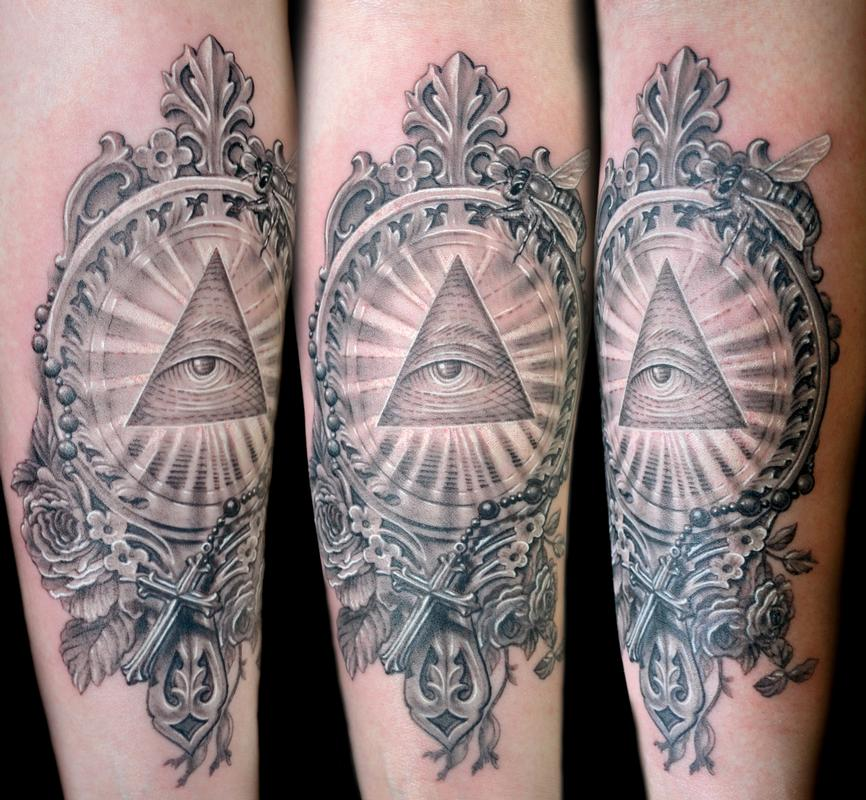 illuminati tattoo sleeveIlluminati Tattoo Sleeve