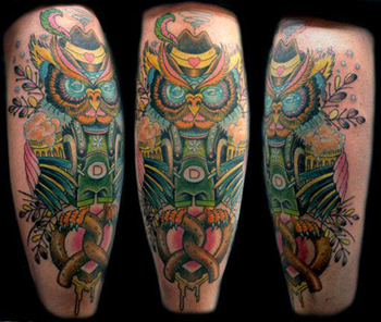 Tattoos - Collaboration Tattoo with Annie Rubinstein - 22325