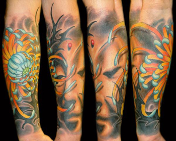 Tattoos - Collaboration Tattoo with Brandon Bond - 22329