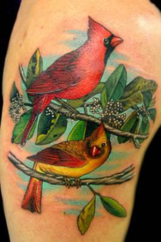 Looking for unique  Tattoos? Cardinals!
