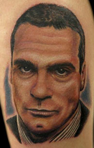 Nate Beavers - Henry Rollins Tattoo