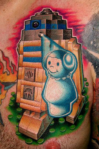 Nate Beavers - Collaborative Tattoo featuring Jeff Ensminger