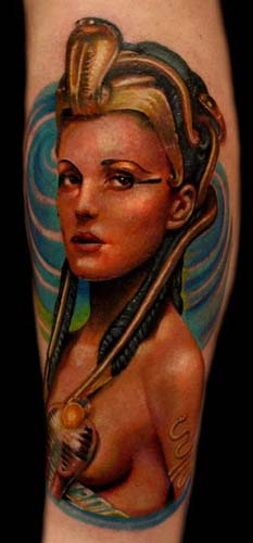Tattoos - Egyptian Queen - 28415
