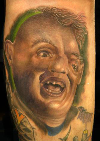 Nate Beavers - Sloth from Goonies