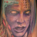 Tattoos - BioMech Face - 22328