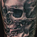 Tattoos - Busted Skull - 22332