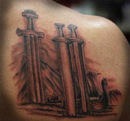 Tattoos - Viking tribute tattoo - 71274