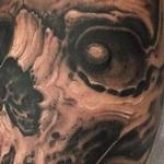 Black and grey skull Tattoo Design Thumbnail