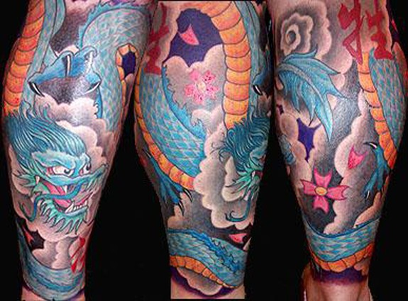 Japanese Nature Sleeve Tattoo