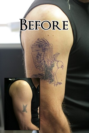 Tattoos - Eagle Cover up (before) - 42832