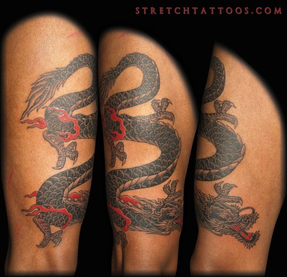 Tattoos - Japanese Dragon - 52607