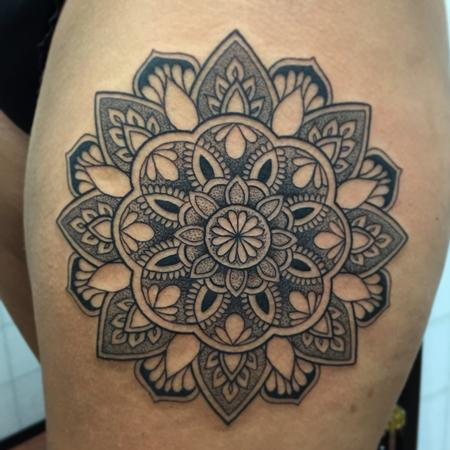 Tattoos - Dotwork mandala  - 111223