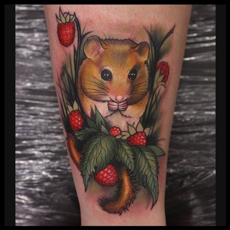 Tattoos - field mouse - 91212