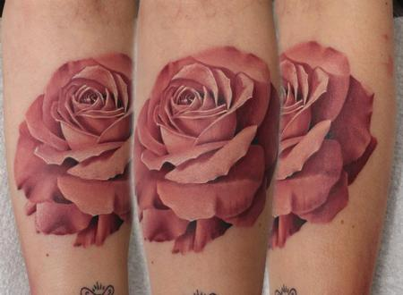 Tattoos - Custom Rose Tattoos - 66902