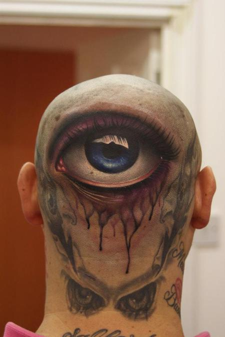 Realistic Eye Tattoo Tattoo Design Thumbnail