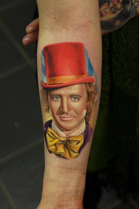 Tattoos - Willy Wonka - 75253