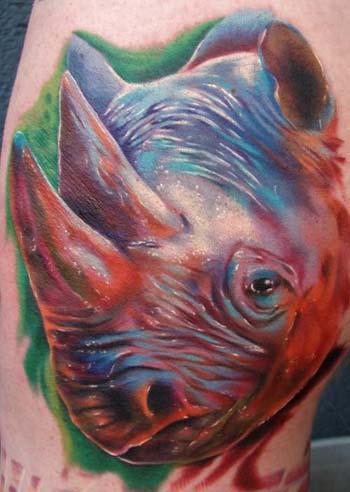 tattoo rhino