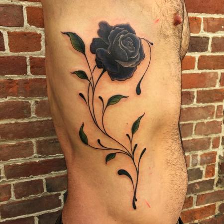 Black Rose Tattoo Tattoo Design Thumbnail