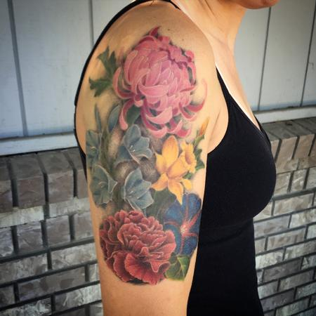 Tattoos - Flowers Tattoo - 120150