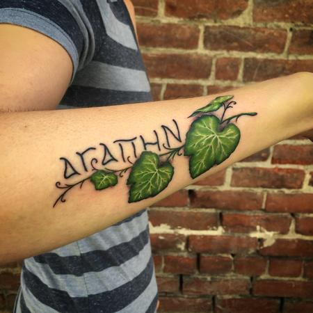 Tattoos - Grape Agape Tattoo - 101808