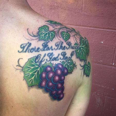 Tattoos - Grapes and Leaves Addition - 104807