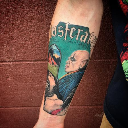 Tattoos - Nosferatu The Vampire Tattoo - 111892