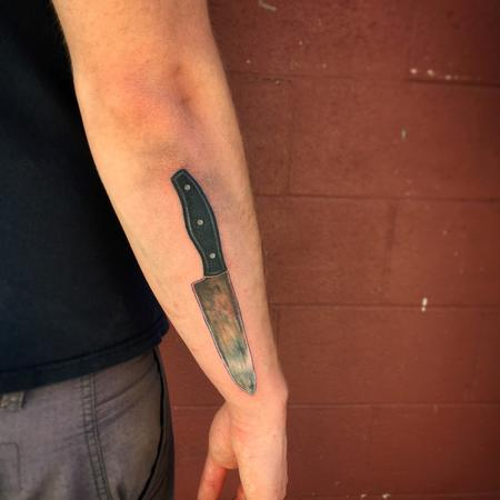 Tattoos - Chef's Knife Tattoo - 104809