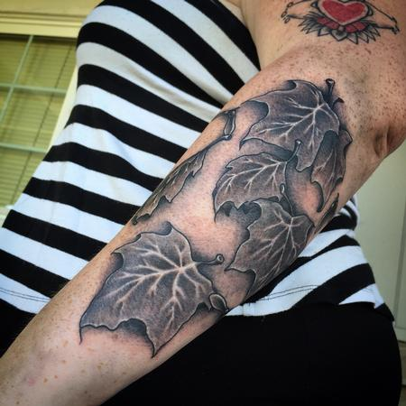 Tattoos - Maple Leaves Tattoo - 120139