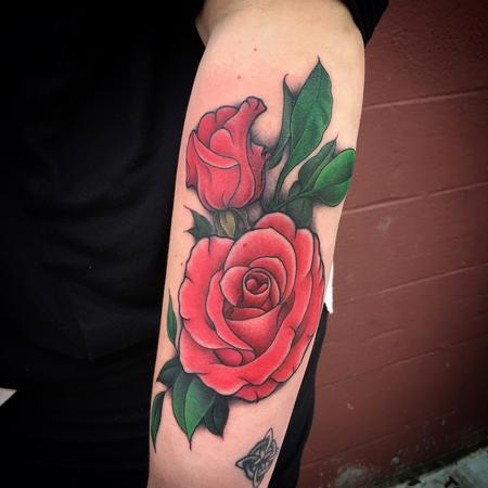 cbc07dee7 ... Flowers Tattoo Nic LeBrun · Tattoos - Rose Tattoo - 115678