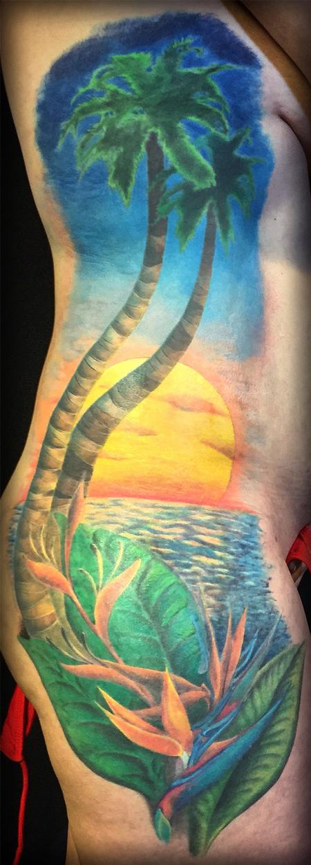 Tattoos - Tropical Tattoo - 114140