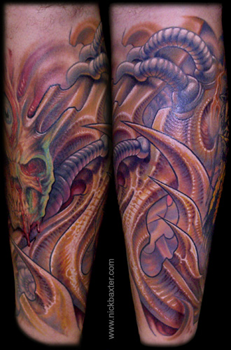 Tattoos - Biomech - 26904