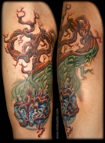Tattoos - Earth Tree - 7668