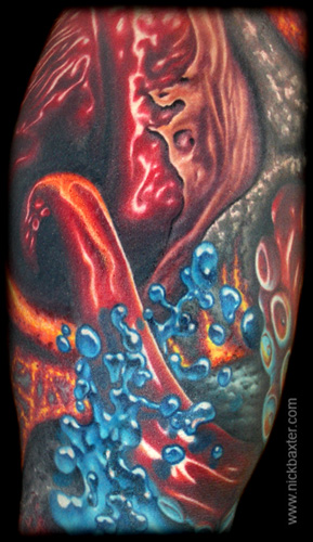 Tattoos - Donnie Danger Sleeve (Detail 2) - 8404