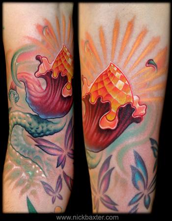Tattoos - Flower - 32088