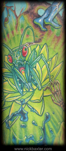 Tattoos - Glowing Mantis (Detail) - 10394