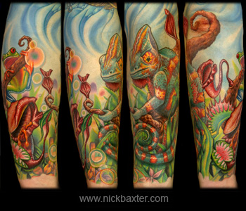 Nick Baxter - Kevins Jungle Sleeve