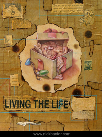 Tattoos - Living The Lie - 24415