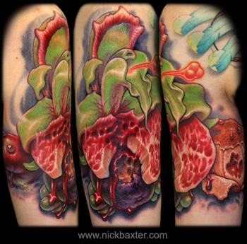 Tattoos - Meat Orchid/Ripe With Decay - 26434