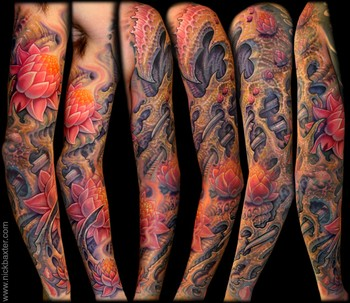 Nick Baxter - Collaborative Bio Sleeve