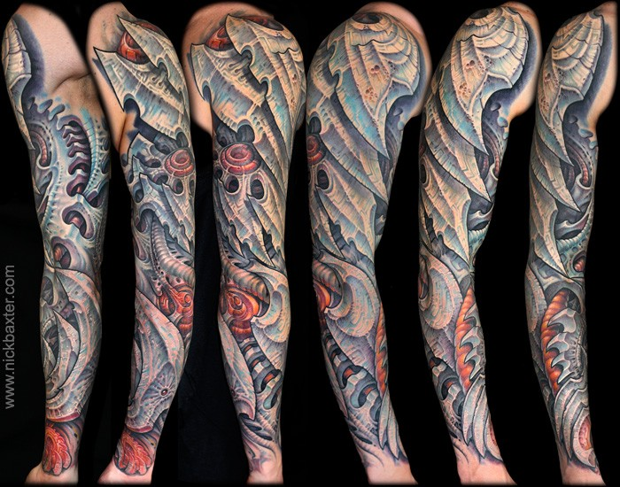 Tattoos - Blademech - 53103