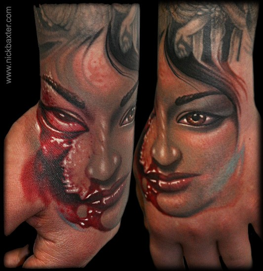 Tattoos - zombie mom - 50579