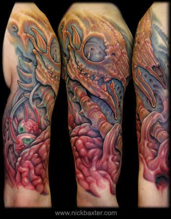 Tattoos - Bio Skullscape - 28631