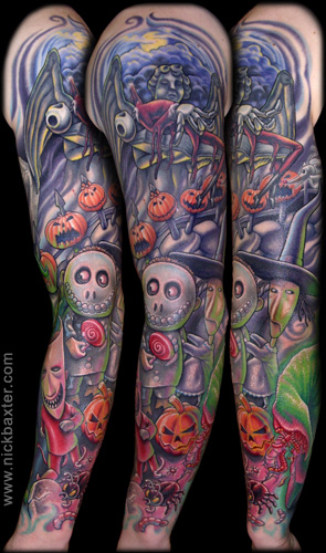 Tattoos - Nightmare Before Christmas - 19806