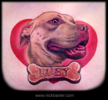 Tattoos - Ruby RIP - 16701