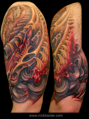Tattoos - Apocalyptic Warhorse - 12905