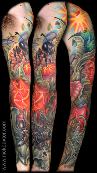 Nick Baxter - Pollination Sleeve I
