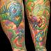 Tattoos - Psychedelic Garden - 8004