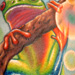 Tattoos - Tree Frog (Detail) - 7664