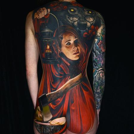 Tattoos - Little Red Riding Hood - 101760