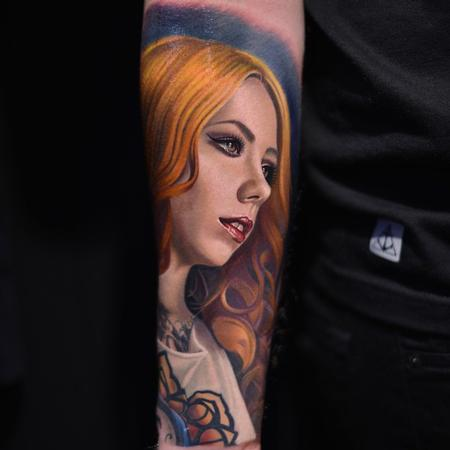 Tattoos - Megan Massacre Tattoo - 104000